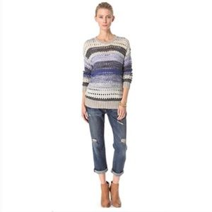 Joie Arvia Women's Striped Pullover Sweater SZ XS